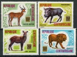 Centrafricain, michel 381/84, xx