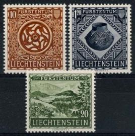 Liechtenstein, michel 319/21, x
