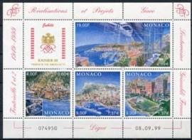 Monaco, michel blok 79 , xx