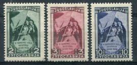 Joegoslavie, michel 542/44, xx