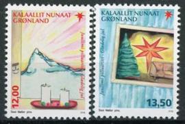 Groenland, michel 743/44, xx