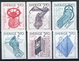 Zweden, michel 1282/87, xx