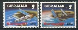 Gibraltar, michel 613/14, xx