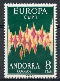 Andorra Sp., michel 71, xx