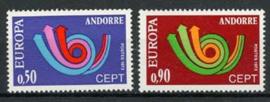Andorra Sp., michel 247/48, xx