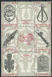 Spanje, michel 2940/45, xx