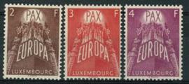 Luxemburg, michel 572/74, xx