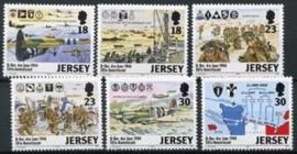 Jersey, michel 654/59, xx