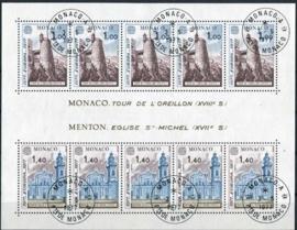 Monaco, michel blok 11, o