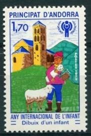 Andorra Fr., michel 300, xx