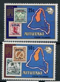 Aitutaki, michel 118/19, xx