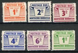 N.Rhodesie, michel P 5/10, xx
