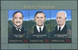 Faroer, michel blok 20, xx