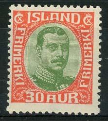 IJsland, michel 93, xx