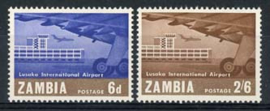 Zambia, michel 32/33, xx
