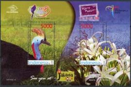 Indonesie, zbl. blok 260, xx