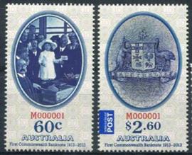 Australie, michel 3951/52, xx