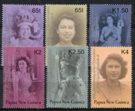 Papua N.Guinea, michel 976/81, xx