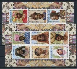 Namibie, michel kb 1061/72, xx