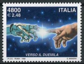 Italie, michel 2666, xx