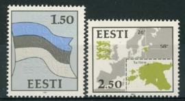 Estland, michel 174/75 , xx