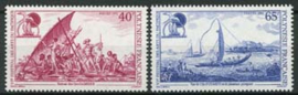 Polynesie, michel 619/20, xx