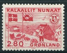 Groenland, michel 163, xx