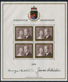 Liechtenstein, michel kb 614, xx