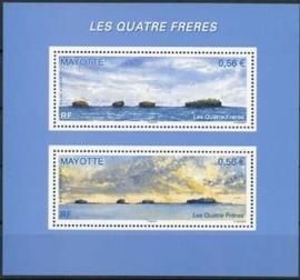 Mayotte, michel blok 13, xx
