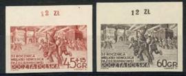 Polen, michel 779/80 B, xx