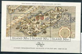 IJsland, michel blok 12, xx