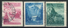 Joegoslavie, michel 655/57, o