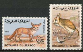 Marokko, michel 1042/43, xx