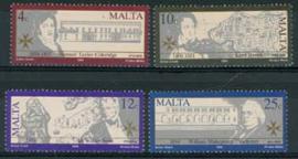 Malta , michel 837/40, xx