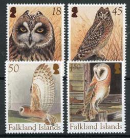 Falkland, michel 915/18, xx