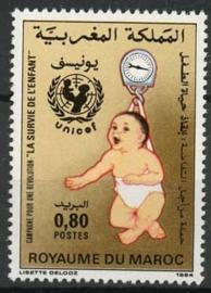 Marokko, michel 1063, xx