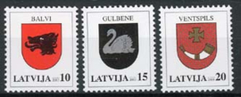 Letland, michel 584/86, xx