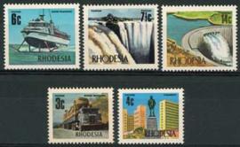 Rhodesie, michel 126/30, xx