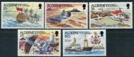 Alderney, michel 49/53, xx