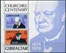 Gibraltar, michel blok 1, xx