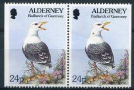 Alderney, michel 77 dl/dr, xx