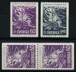 Zweden, michel 534/35,xx
