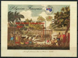 Polynesie, michel blok 10, xx