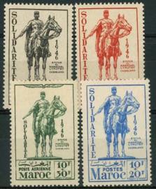 Marokko, michel 236/39, x