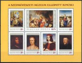 Hongarije, michel blok 170 A, xx