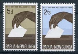 Papua N.Guinea, michel 56/57, xx