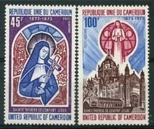 Cameroun, michel 719/20, xx