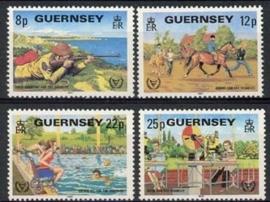 Guernsey, michel 237/40, xx