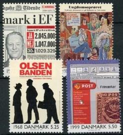 Denemarken, michel 1263/66, xx