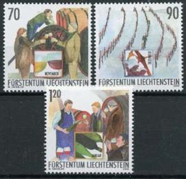 Liechtenstein, michel 1333/35, xx